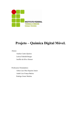 Quimica Digital Movel - Repositório Digital da UFMG