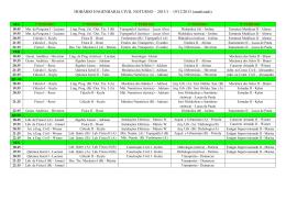 HORÁRIO ENGENHARIA CIVIL NOTURNO – 2013/1