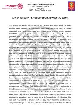 3ª represe – adirc – 2015