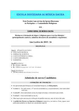 Folheto Informativo - EDMS