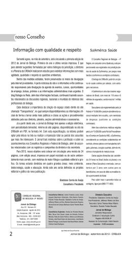 Setembro 2012 - Conselho Regional de Biologia
