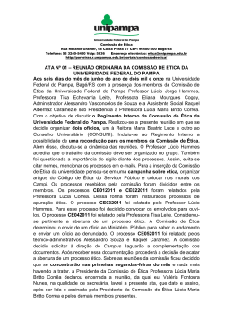 ATA Nº 01 - Pró-Reitorias Unipampa