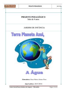Projecto Curricular de turma - Colégio Nossa Senhora do Amparo