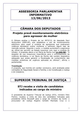 INFORMATIVO 13 DE JUNHO DE 2013