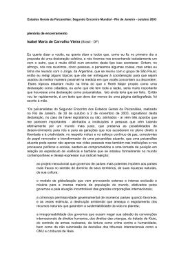 Isabel Maria de Carvalho Vieira (Brasil - DF)