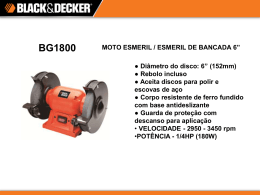 BG1800 - Black & Decker