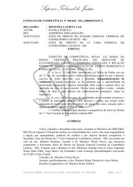Superior Tribunal de Justiça - Ministério Público