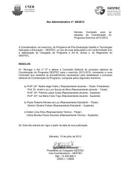 Ato ADM 08_2013 – GESTEC