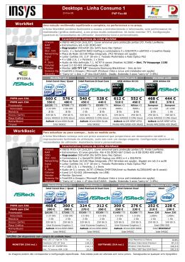 Desktops - Linha Consumo 1