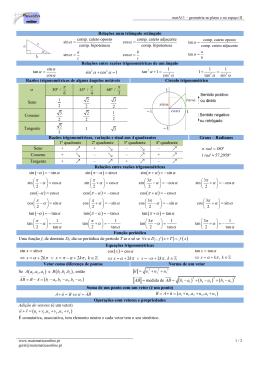 Geometria no plano e no espaço II - matematica on-line