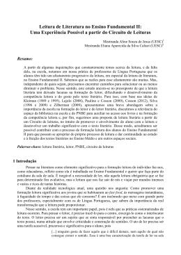artigo - Instituto de Letras e Lingüística
