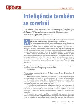 Luiz Antonio Joia, especialista em uso estratégico da