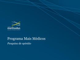 Instituto_Methodus_Apresentação Mais médicos