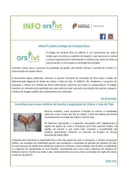 info arslvt 2013.10.03 - ARS Lisboa e Vale do Tejo