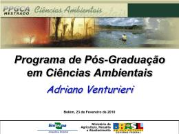 Adriano Venturieri - Programa de Pós
