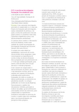 LUÍS FILIPE BATISTA MESTRE Área de Especialidade: Formação