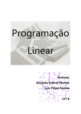 Autores: Gonçalo Sobral Martins Luís Filipe Gomes Autores: alo