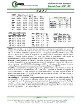 Fazer do Relatório Diário de 09/11/2009