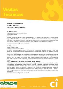 roteiro gastronomico 10 dias | 9 noites portugal - janeiro de