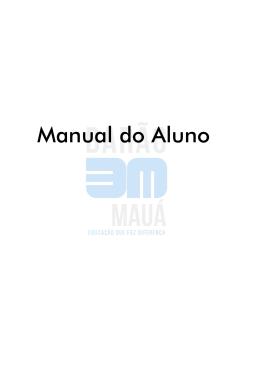 Manual do Aluno - Colégio Barão de Mauá