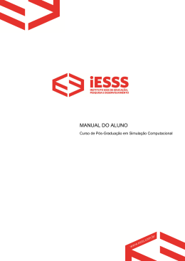 Manual do Aluno iESSS