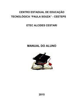 Baixe aqui o manual do aluno