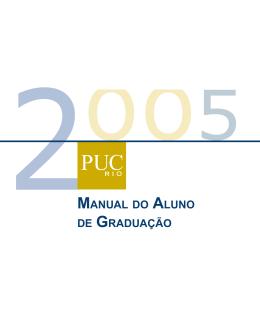 PUC-Rio-Manual do aluno de graduação
