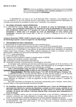 edital nº 31/2015