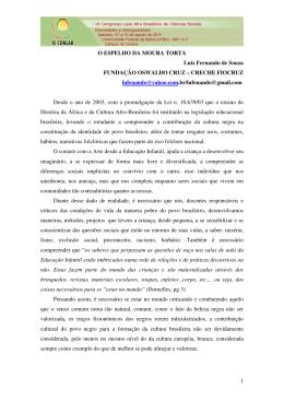 Luiz Fernando de Souza - XI Congresso Luso Afro Brasileiro de