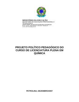 PPC - IF Sertão-PE