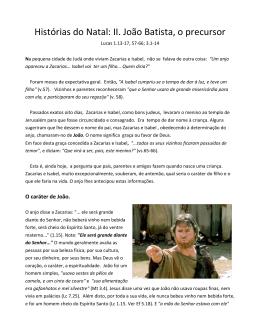2. João Batista - Éber Lenz César