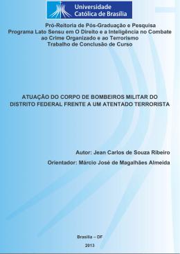 Jean Carlos de Souza Ribeiro - Universidade Católica de Brasília