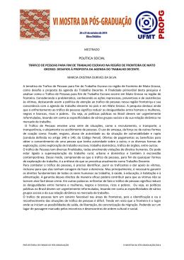 MESTRADO-POLÍTICA SOCIAL-MARCIA CRISTINA