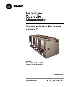 Instalação Operação Manutenção