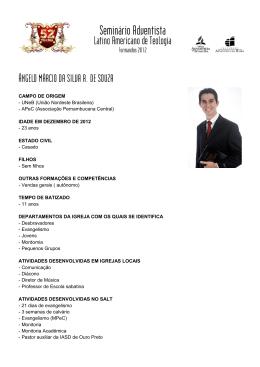 ÂNGELO MÁRCIO DA SILVA R. DE SOUZA