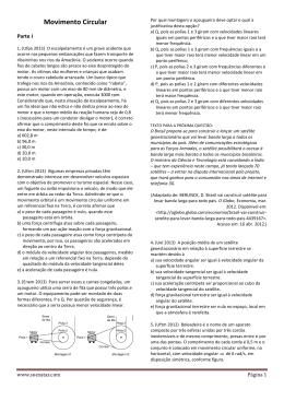 ExerciciosMovimento CircularXX