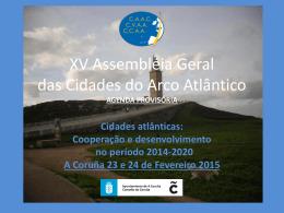 XV Asamblea General de las Ciudades del Arco