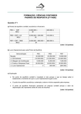 Projeto: BNDES