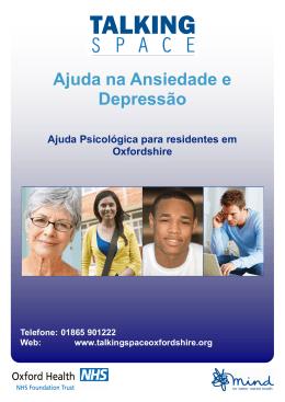 Ajuda na Ansiedade e Depressão