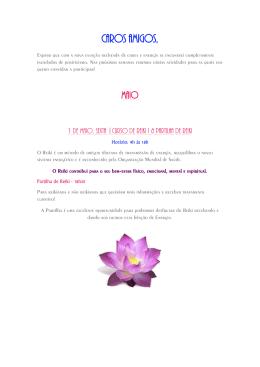 Newsletter Mês Maio