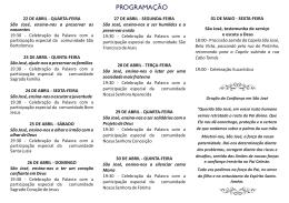 São José Operário - Paróquia Nossa Senhora do Rosário de Fátima