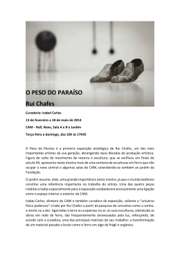 Press Release - Fundação Calouste Gulbenkian