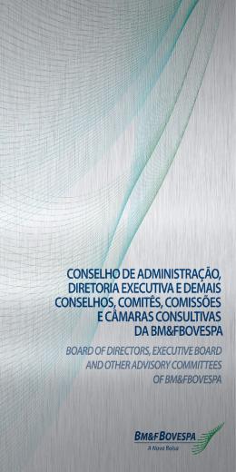 conselho de administração, diretoria executiva
