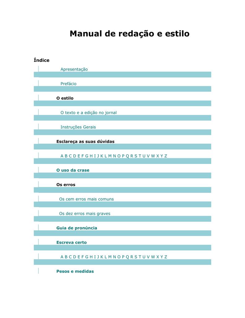 344a43b282 Manual de Redação e Estilo – Estadão