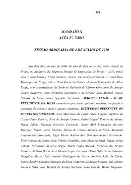 MANDATO IX - Câmara Municipal de Braga
