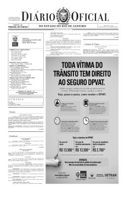 Veja o Diário Oficial.
