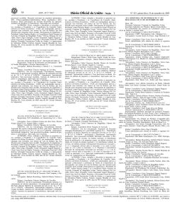 Acórdão Diário Oficial da União
