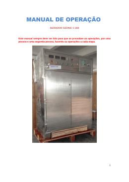 manual de operação c-200