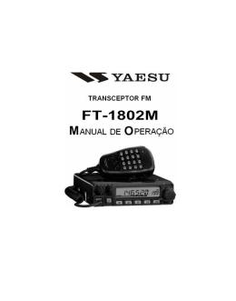 YAESU FT-1802m - Manual de operação (Port.)