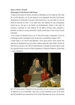 Irmâ Maria Cecília Pontes